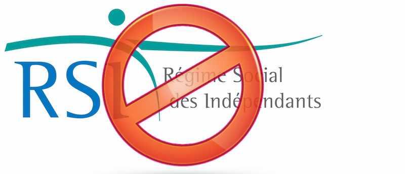 Logo du RSI barré